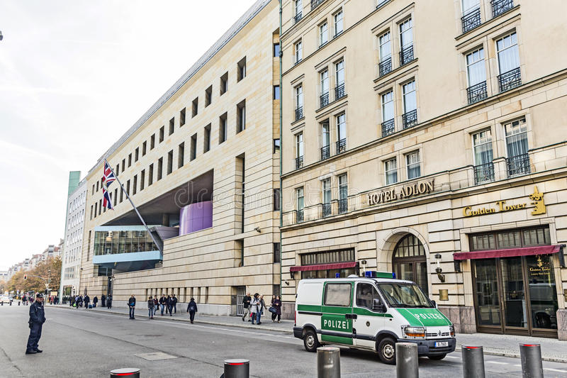 Hotelowy Adlon w Berlin obrazy stock