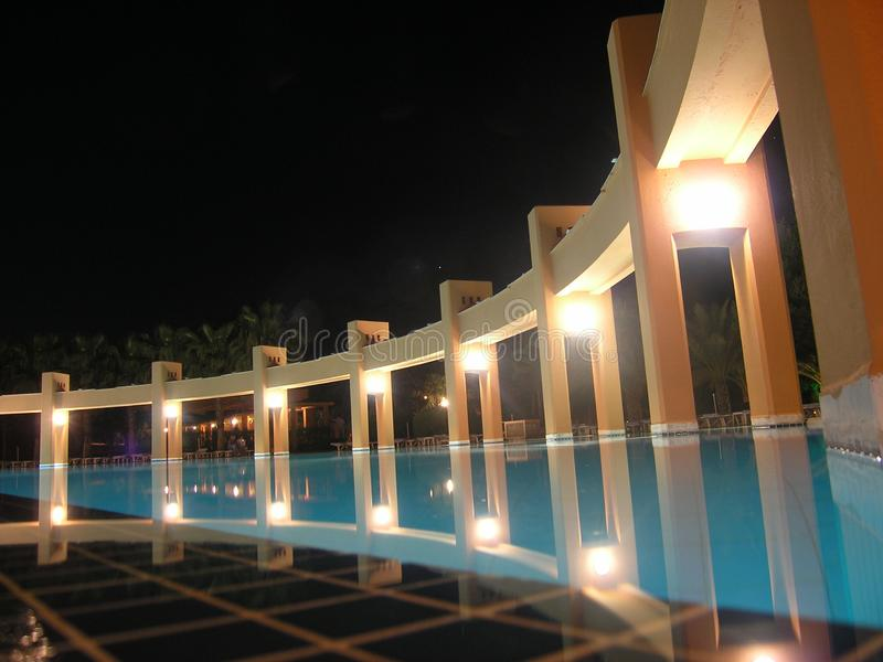 Hotelowy Basen Bezpłatna Fotografia Stock
