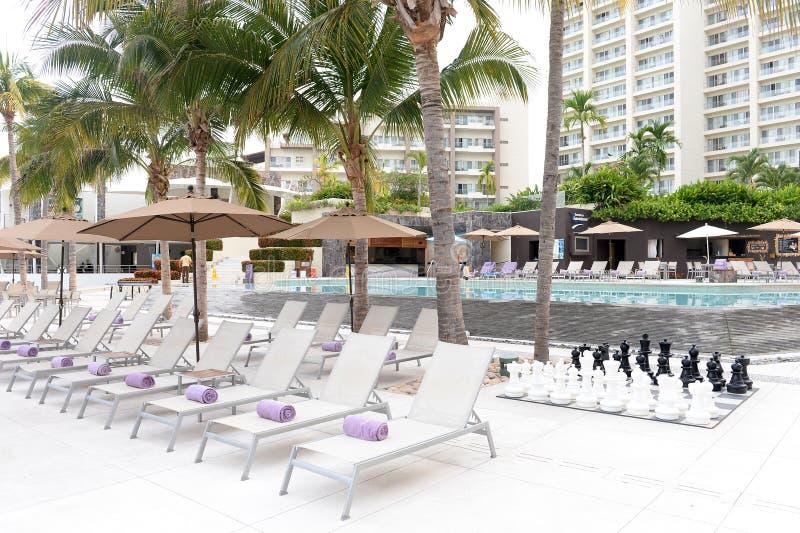 hotelowy basen piękno płynie bardzo obraz royalty free