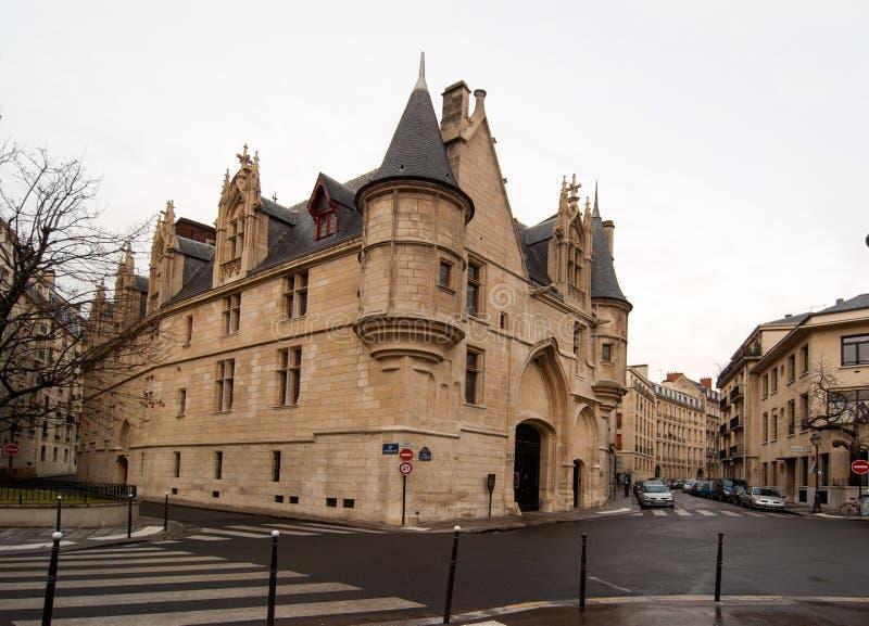 Hotelowy De Sens w Paryż, Francja obrazy royalty free