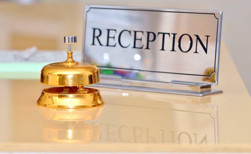 Hotelowy dzwon fotografia stock