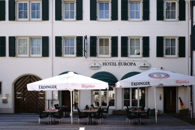 Hotelowy Europa Ruesselsheim obrazy stock
