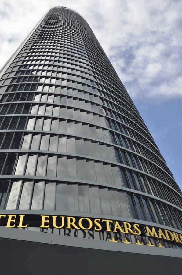 Hotelowy Eurostars Madryt zdjęcia royalty free