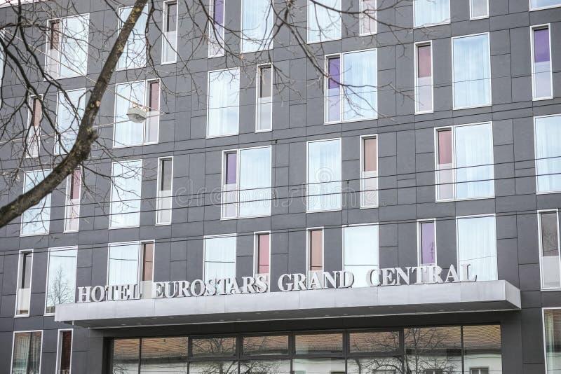 Hotelowy Eurostars Uroczysty Środkowy Munich zdjęcie royalty free