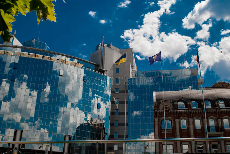 Hotelowy Hyatt Kijów obrazy stock