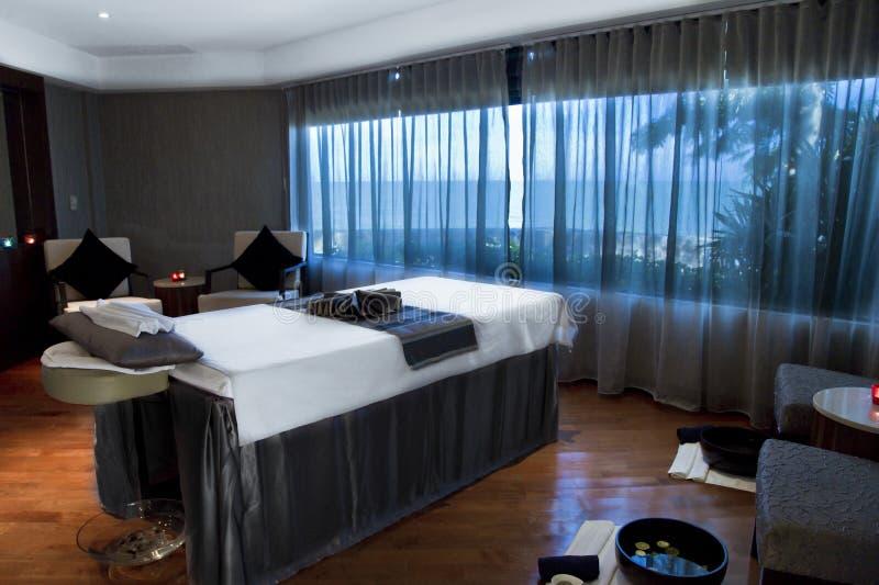 Hotelowy kurortu zdroju pokój zdjęcie royalty free