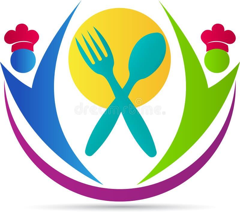 Hotelowy logo ilustracja wektor