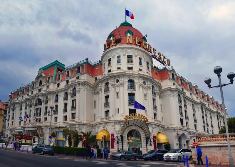 Hotelowy Negresco fotografia royalty free