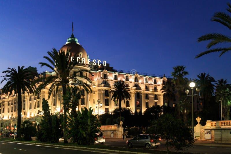 Hotelowy Negresco obraz royalty free