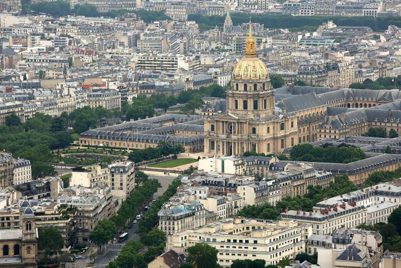 Hotelowy obywatela des Invalides w Paryż zdjęcie royalty free
