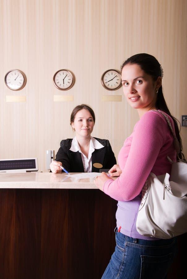hotelowy przyjęcie zdjęcia stock