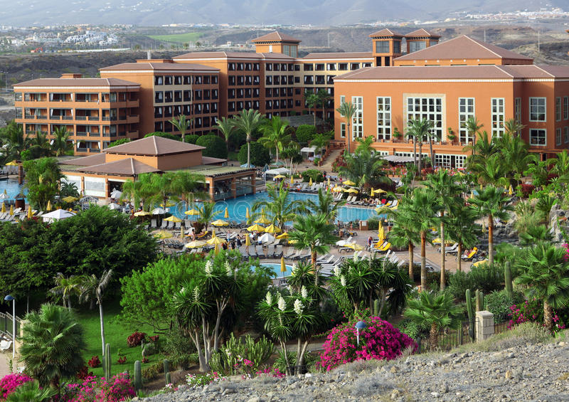 hotelowy Tenerife obrazy royalty free