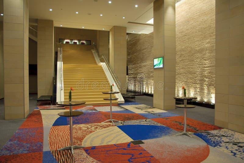 hotelowy wewnętrzny nowożytny zdjęcie royalty free