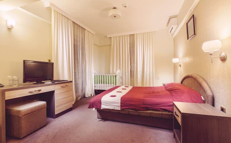 Hotelruimte royalty-vrije stock fotografie