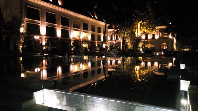 Hotels en toevlucht royalty-vrije stock foto's