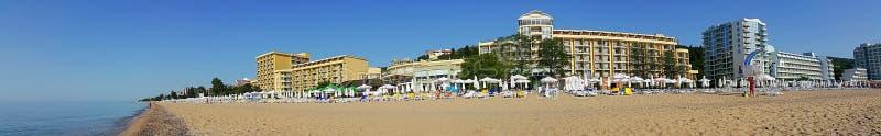 Hotels in Golden Sands stock photos