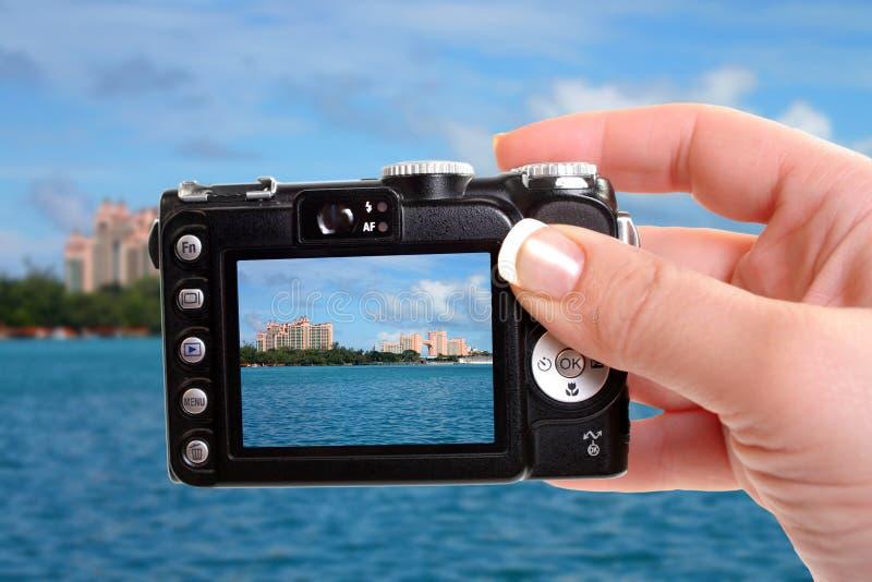 Hotels in Nassau stock afbeelding