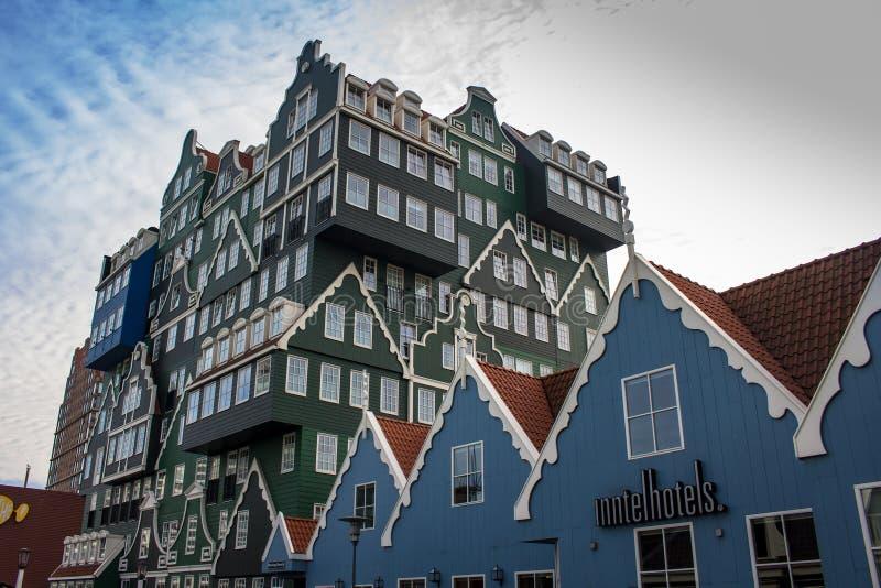 Hotels in Zandaam royalty-vrije stock fotografie