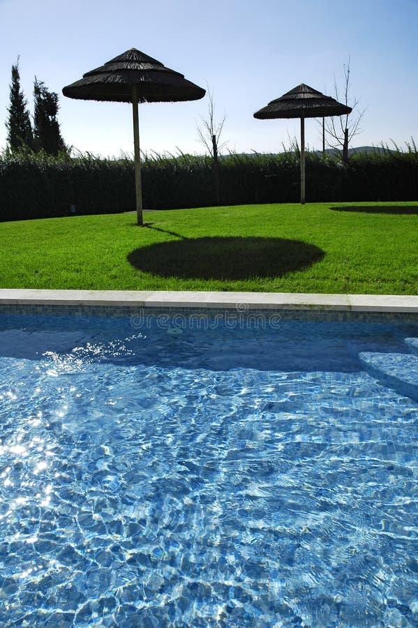 HotelSwimmingpool 3 lizenzfreie stockfotos