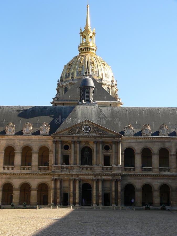 Hotelu Des Invalides, Paryż Zdjęcia Royalty Free