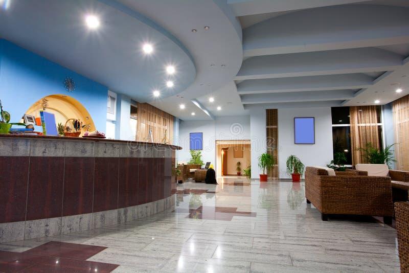hotelu lobby fotografia royalty free