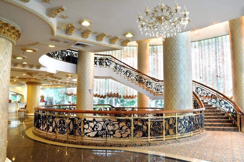 hotelu lobby zdjęcie royalty free