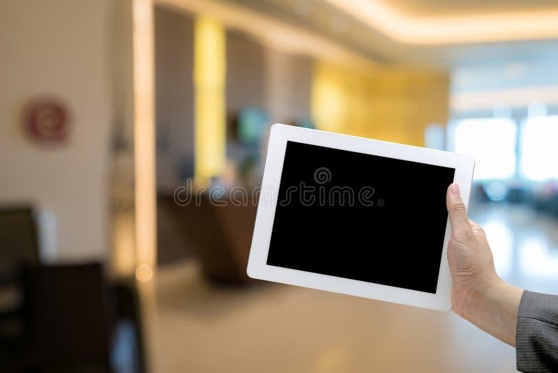 Hotelu Zamazany tło obrazy stock
