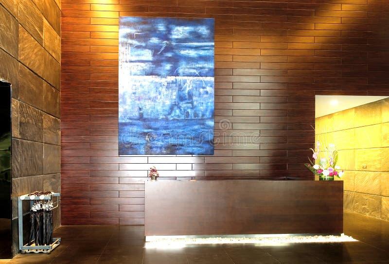 Hotelvorhalle lizenzfreie stockbilder