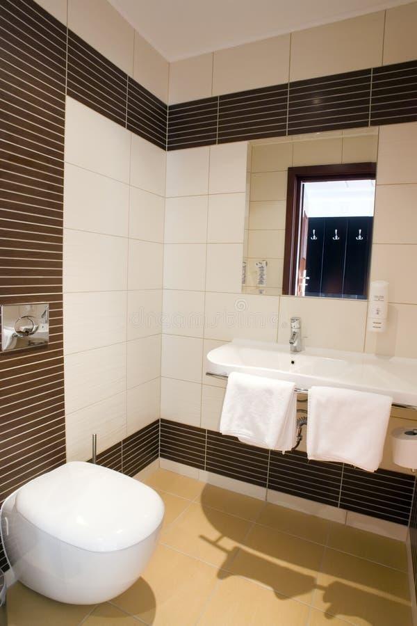 Hotelwaschrauminnenraum   stockfotografie