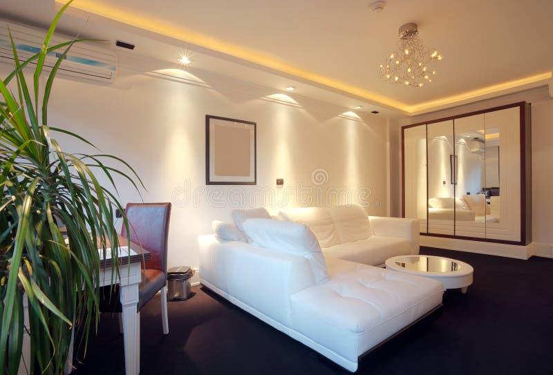 Hotelwohnung lizenzfreie stockfotos