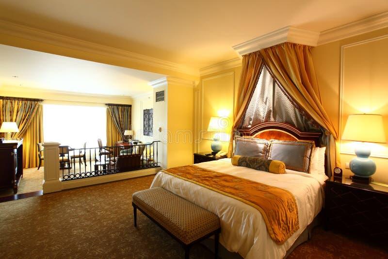 Hotelzimmer stockbild