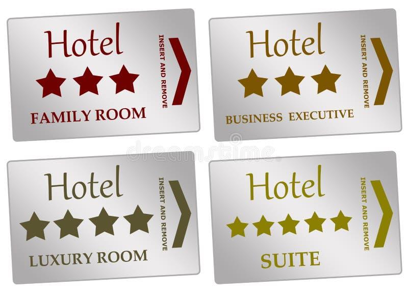 Hotelzimmer lizenzfreie abbildung