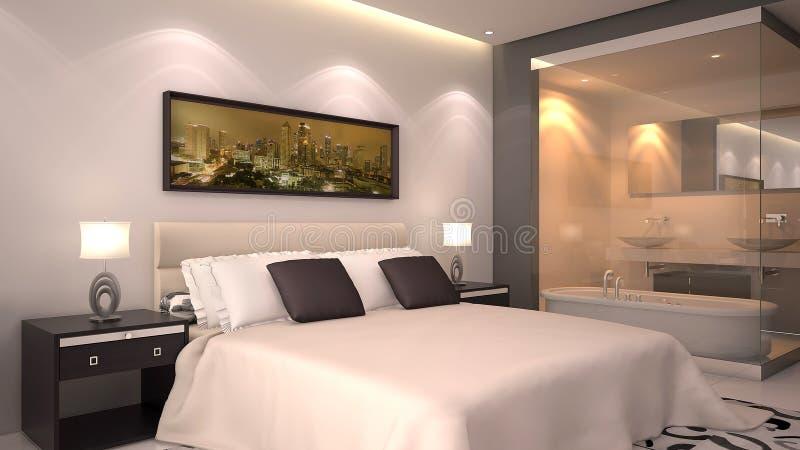 Hotelzimmer lizenzfreie stockbilder