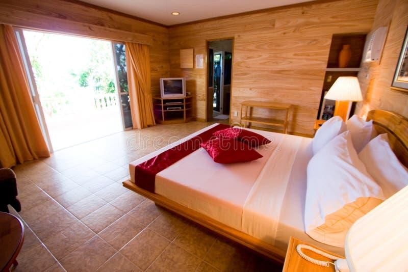 Hotelzimmer mit fünf Sternen stockbilder
