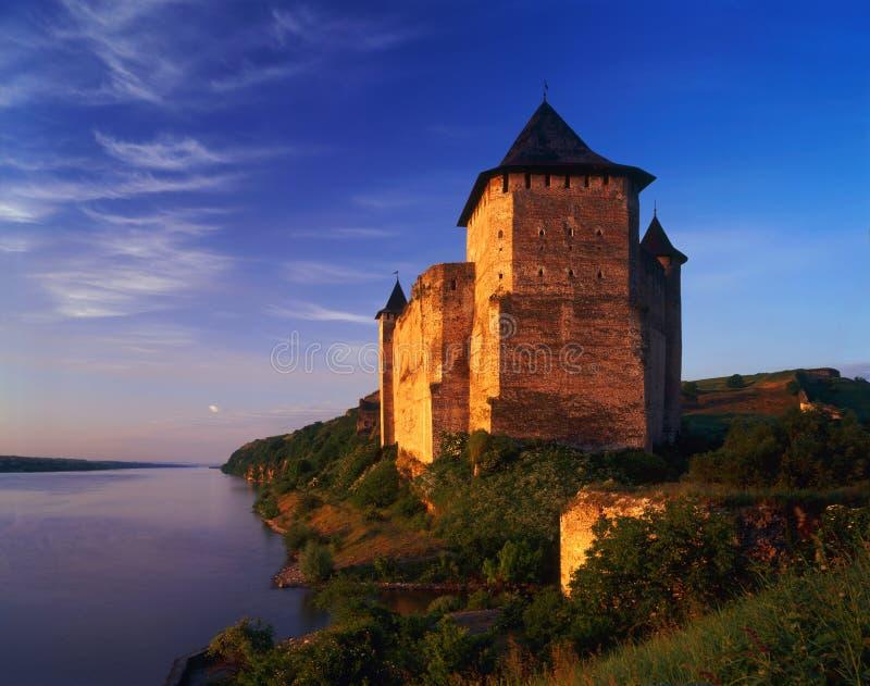 Hotinskaya forteca zdjęcia royalty free