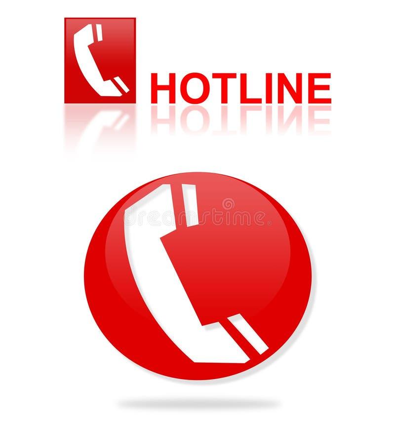 Hotline lizenzfreie abbildung