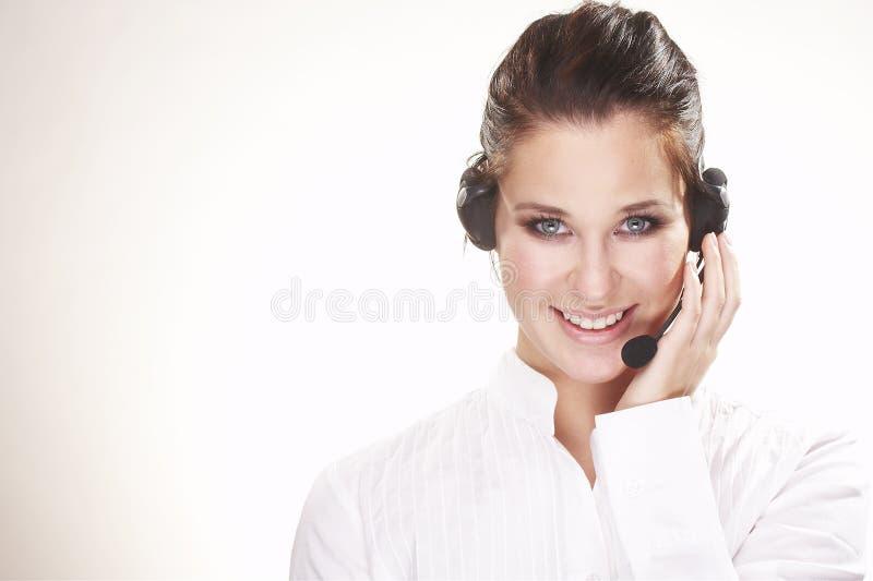 Hotline operator stock images