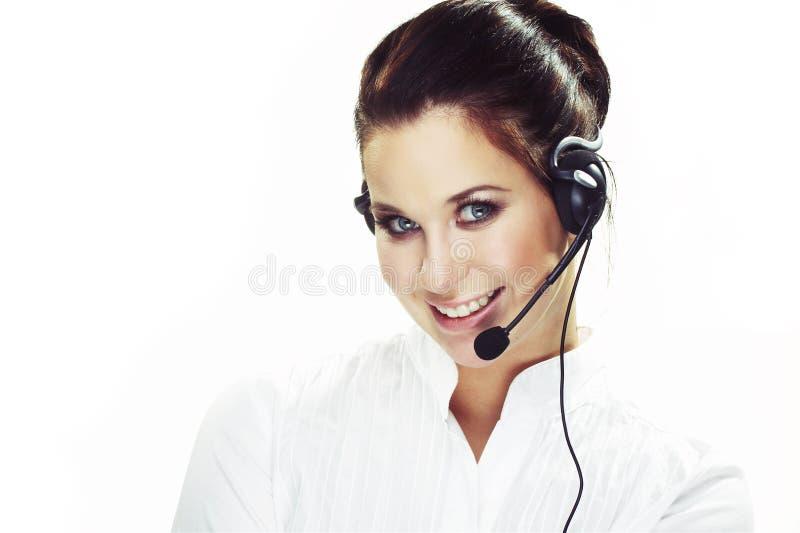 Hotlinesbediener stockfotografie