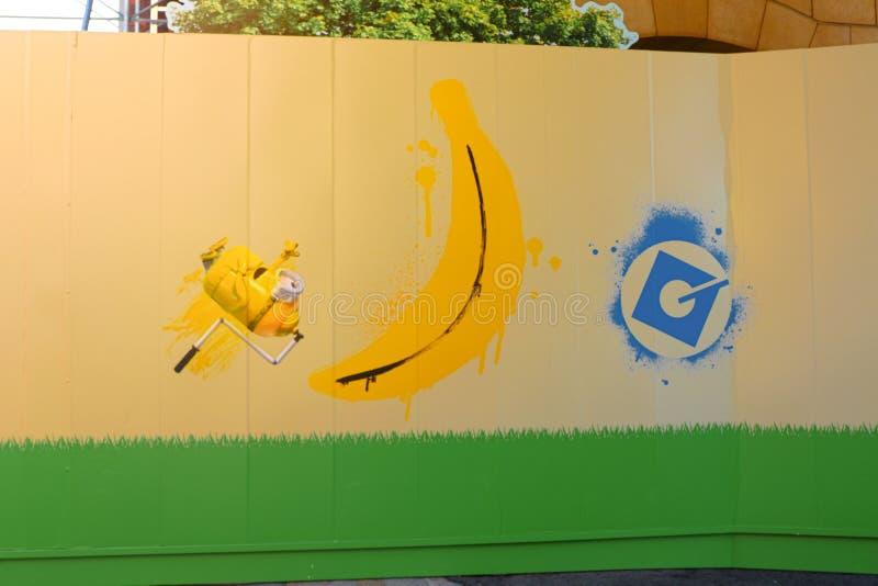 Hoto di arte FELICE della parete del ` del SERVO del ` fotografia stock