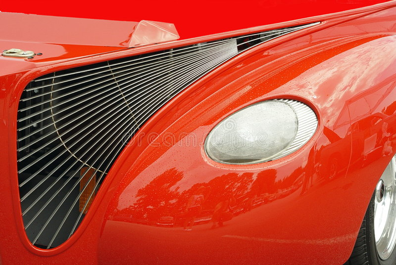 Hotrod Grill royalty free stock image