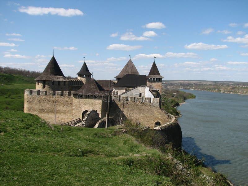 Hotyn Festung stockbilder