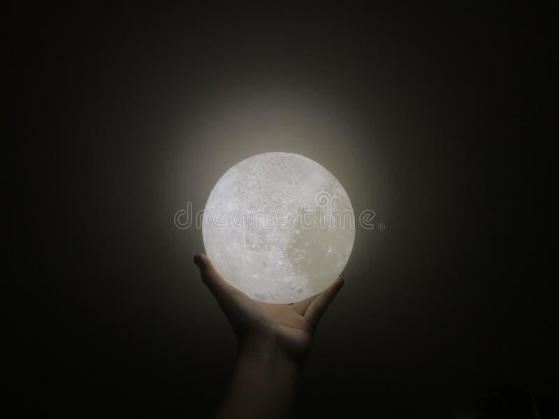Houd de Maan stock fotografie