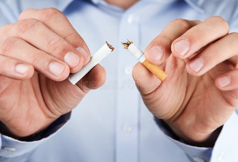 Houd met op rokend royalty-vrije stock foto