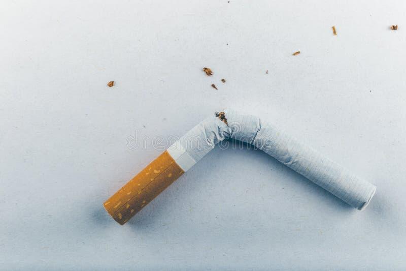 Houd op Smoking royalty-vrije stock fotografie