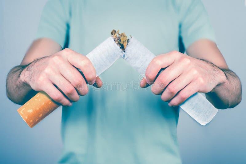 Houd op Smoking stock afbeeldingen