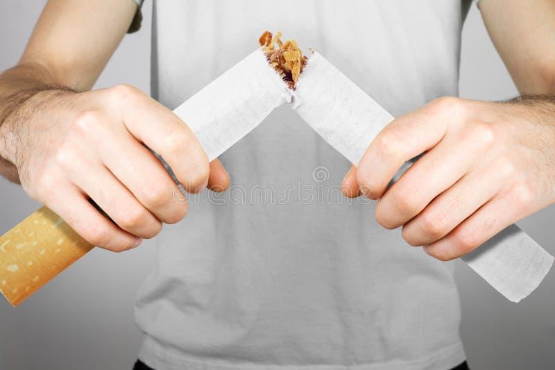 Houd op Smoking stock afbeelding