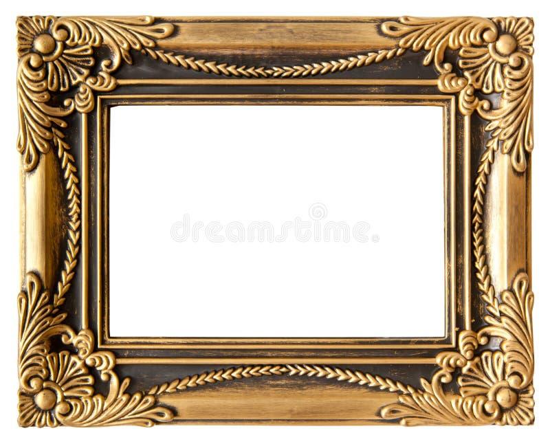 Houd van gouden frame royalty-vrije stock foto