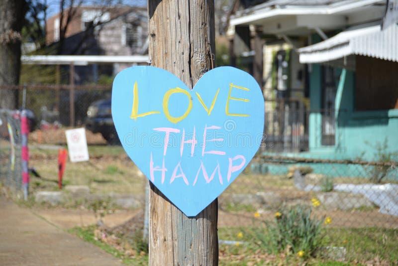 Houd van Hamp, Binghampton Communautair Memphis royalty-vrije stock fotografie