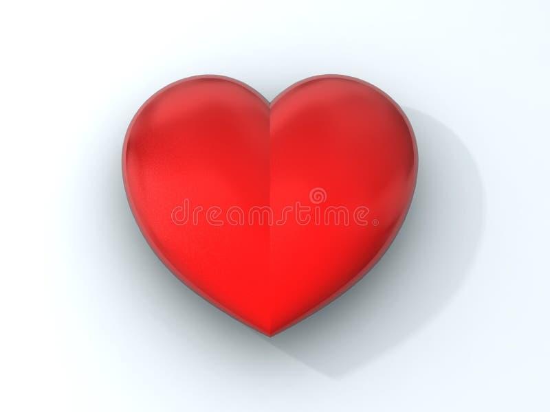 Houdend van hart stock illustratie