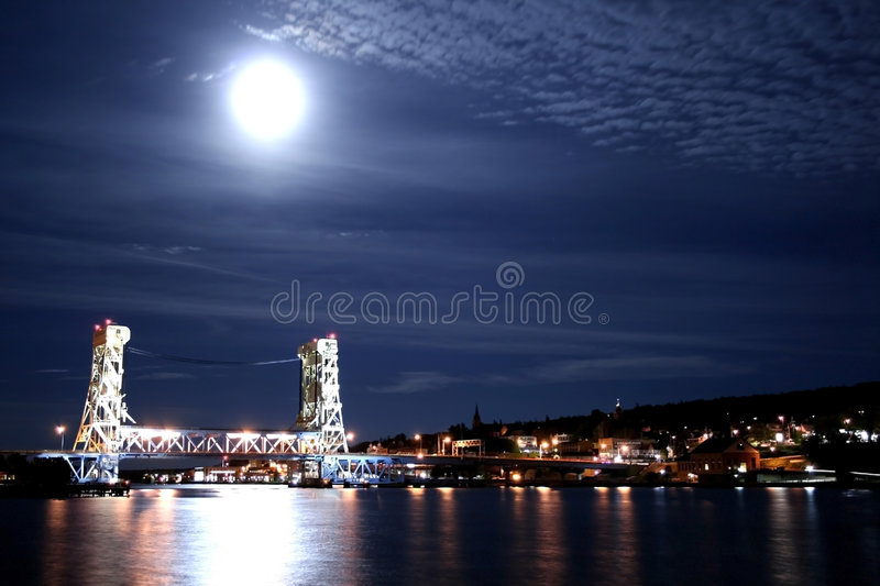 Download Houghton stock photo. Image of cloudy, keewenaw, hang - 1408322